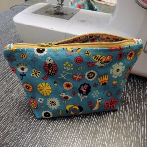 pouch sewing 101